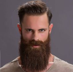 One nicely grown beard Badass Beard, Epic Beard, Grey Beards, Long Beards, Long Beard Styles, Hair And Beard Styles, Perfect Beard, Beard Love, Tapered Beard