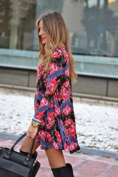 Уличная мода: Элегантная испанка Helena Cueva Ramos и её модный блог