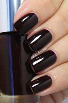 Black Honey! vampy burgundy
