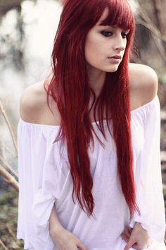 long and red; love it.