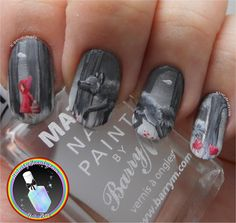 Little Red Riding Hood Nail Art.  Ithinity Beauty - Nail Art Blog