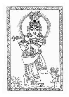 Heritage of India: Beautiful Kalamkari Painting Images