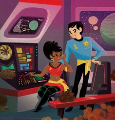 Star Trek Mirror Mirror by KassandraHeller.deviantart.com on @deviantART