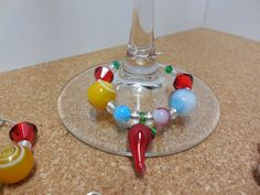 Festive Red Pepper Wine Glass Charms | Quality made items for everyone.