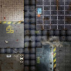 space hulk, game grid and map Game Terrain, 40k Terrain, Blood Bowl, Tabletop Rpg, Tabletop Games, Ship Map, Edge Of The Empire, Building Map, Cyberpunk 2020
