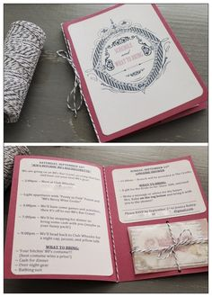 The Itinerary - Hen Party Ideas | The Hen Planner