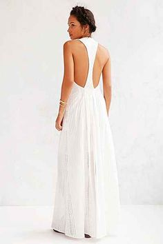 The Jetset Diaries North Of Fira Maxi Dress - Urban Outfitters