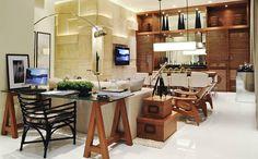 ESCRITÓRIO NA SALA | Gustavo Valente Arquitetura e Design de Interiores