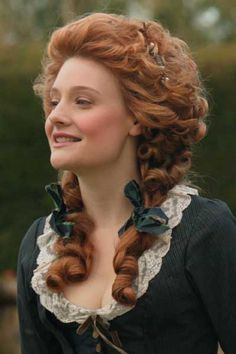 Romola Garai as Barbara Spooner in Amazing Grace (2006).