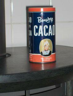 Dutch BensDorp Cacao Tin - Sassafrass Store Mon cacao quand j 'étais enfant @