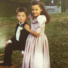 Miranda Kerr's Adorable Childhood Photos Prove She Was Born to Work Pigtails and Be a Supermodel—Take a Look!  Miranda Kerr, Matty Kerr, Throwback, Instagram