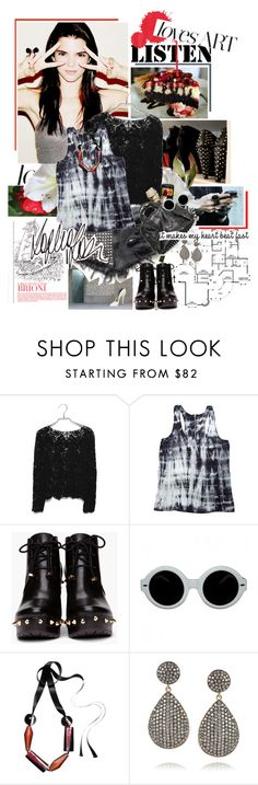 """""""Have a great week (:"""" by are-you-with-me ❤ liked on Polyvore featuring Prada, Guerlain, Gypsy05, Marc by Marc Jacobs, Gargyle, Marni, Ileana Makri and Børn"""