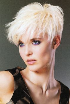 Today we have the most stylish 86 Cute Short Pixie Haircuts. Pixie haircut, of course, offers a lot of options for the hair of the ladies'… Continue Reading → Short Choppy Hair, Short Pixie Haircuts, Short Blonde, Hairstyles Haircuts, Short Hair Cuts For Women, Short Hair Styles, Sassy Hair, Great Hair, Hair Today