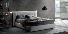 TEO 28  letto in promozione  collezione Big Bang #letto #imbottito #contenitore #promozione #promo