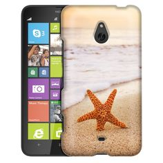 Nokia Lumia 1320 Starfish on the Beach Slim Case