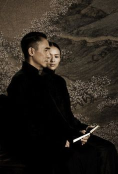 Cheongsam (Qi Pao旗袍) in Chinese films - The Grandmaster (一代宗师)- Zhang Ziyi (章子怡) & Tony Leung Chiu Wai (梁朝伟)