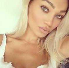 Gorgeous Makeup: Tips and Tricks With Eye Makeup and Eyeshadow – Makeup Design Ideas Makeup Tips, Beauty Makeup, Hair Makeup, Hair Beauty, Makeup Ideas, Alena Shishkova, Indian Human Hair, Indian Hair, Contour Makeup