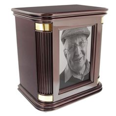 Rosewood Hall Photo Chest Wood Cremation Urn for Ashes by Howard Miller | Available at Stardust-Memorials.com #wood #urn