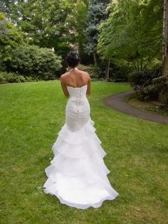 Mori Lee Gorgeous Mermaid Style Dress With Sweetheart Top Size 3 DressesUsed Wedding