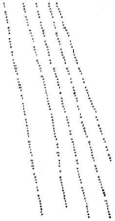 """Guillaume Apollinaire, Il Pleut from """"Calligrammes"""", 1912-1918 can anyone translate this for me. my all time favorite since school..."""
