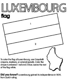 Bildergebnis für Luxemburg coloring