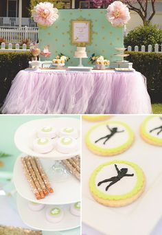 Magical Neverland Birthday Party {Peter Pan} More girly without being completely tinkerbell