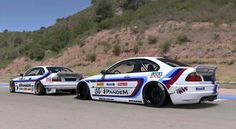BMW E36 and E46 racers