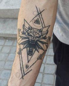 Hand Tattoos, Symbol Tattoos, Wolf Tattoos, Forearm Tattoos, Body Art Tattoos, Sleeve Tattoos, Tatoos, Tattoo Finder, Witcher Tattoo