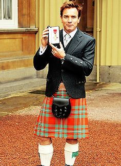 6/28/13 Ewan McGregor is appointed an OBE for services to drama and charity