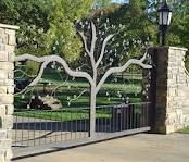 perfect for driveway gate!  Seems more inviting