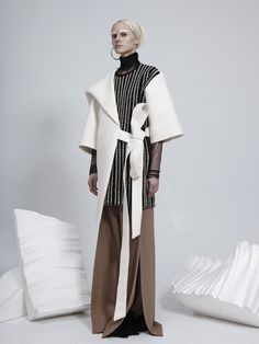 Contemporary Fashion - modern tailoring; innovative pattern cutting // Ethan Hon