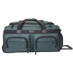 "Western Pack WH600 Series 26"" $40.00 Wheeled Duffel Bag (Green) Western Pack http://smile.amazon.com/dp/B001CEQG7E/ref=cm_sw_r_pi_dp_8-u9ub0SB4NDE"