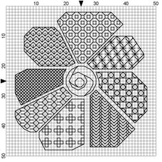 Cross Stitch Patterns I love this blackwork pattern. Most of what I find for blackwork is historically correct. I'm looking for MODERN patterns and uses for blackwork and this pattern does just that. Motifs Blackwork, Blackwork Cross Stitch, Blackwork Embroidery, Cross Stitch Charts, Cross Stitch Designs, Cross Stitching, Cross Stitch Embroidery, Embroidery Patterns, Cross Stitch Patterns