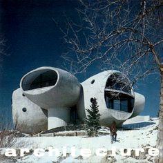 Brenton House~Boulder,Colorado Organic Architecture, Futuristic Architecture, Amazing Architecture, Architecture Design, Round Building, Concrete Structure, Unusual Buildings, Boulder Colorado, Dome House