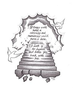 popular drawing designs | stairway to heaven by heteroclite360 designs interfaces tattoo design ...