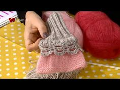"Derya Baykal - Deryanın Dünyası - ""Tek şişle parmaksız ELDİVEN yapımı"" -... Knitting Stitches, Knitting Patterns Free, Free Knitting, Knitted Gloves, Fingerless Gloves, Crochet Baby, Knit Crochet, Crochet Videos, Knitting Accessories"