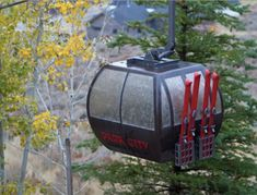 This model gondola at scale illuminates the nighttime backyard of a ski enthusiast in Park City, Utah. Lighting Manufacturers, Custom Lighting, Light Decorations, Lights, Park City, Utah, Ski, Scale, Backyard