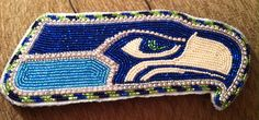 Seahawks Medallion I made for a cousin.  2013