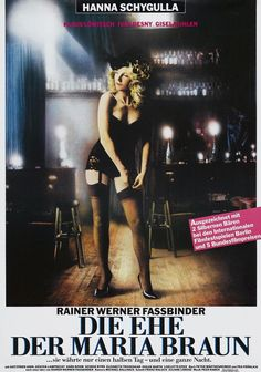 The Marriage of Maria Braun (German) 11x17 Movie Poster (1979)