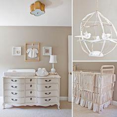 A Serene, Dreamy Nursery -Tamar Mogendorff Birdcage's Sold at Petit Bebe