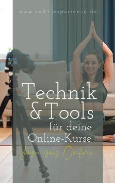Technik und Tools für deine Online-Yoga-Kurse Ayurveda, Live Stream, Online Yoga, Movies, Movie Posters, Human Body, Films, Poster