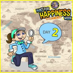 It's Day 2 of Hunt for Happiness Week. Pick one of the three happy hunts to bring an extra smile to your face today: http://sohp.com/hunt-happiness-day-2-activities