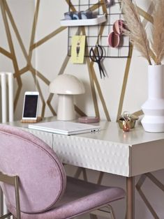 The Spring Edit: My New Favourite Discoveries For My Home — MELANIE LISSACK INTERIORS Small Space Living, Small Spaces, Upcycled Cabinet, Serene Bedroom, Pink Bedrooms, Master Bedrooms, Desk Layout, Set Of Drawers, Home Office Decor