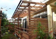 屋根、柵、樋、物干し台