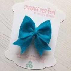 2.5 Sailor Bow Felt Hair Bow Hairband PARTY BOW Photo | Etsy Felt Hair Bows, Bow Hairband, Custom Bows, Felt Fabric, Handmade Birthday Cards, Hair Band, Photo Props, Drink Sleeves, Sailor