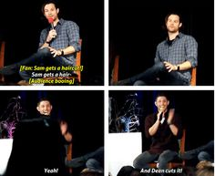 [GIFSET] Yes! Dean/Jensen dream about it and so do I!! ;D #ChiCon2013