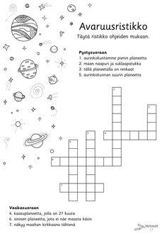 Avaruus - Värinautit Science And Nature, Preschool, Classroom, Teaching, Education, Pictures, English, Class Room, Photos