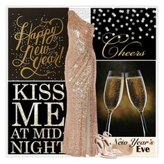 """""""NYE Dance Party"""" by marion-fashionista-diva-miller ❤ liked on Polyvore featuring Badgley Mischka, Diane Von Furstenberg, Steven by Steve Madden, 2016, NewYearsEve, newyear and nyestyle"""