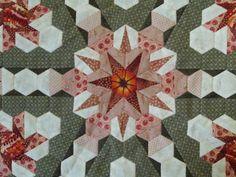 The Great Hexagon Quilt - Along: Foundation pieced hexagons