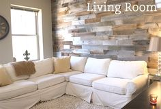 Will Kimmerle, Patrick Cartellone is raising funds for Artis Wall: Removable Reclaimed Wood Accent Walls on Kickstarter! Authentic reclaimed wood planks that install in minutes and can be removed in minutes, without damaging your walls. Reclaimed Wood Accent Wall, Wood Wall, Accent Walls In Living Room, My Living Room, Artis Wall, Pallet House, Kitchens And Bedrooms, Plank Walls, Wood Accents
